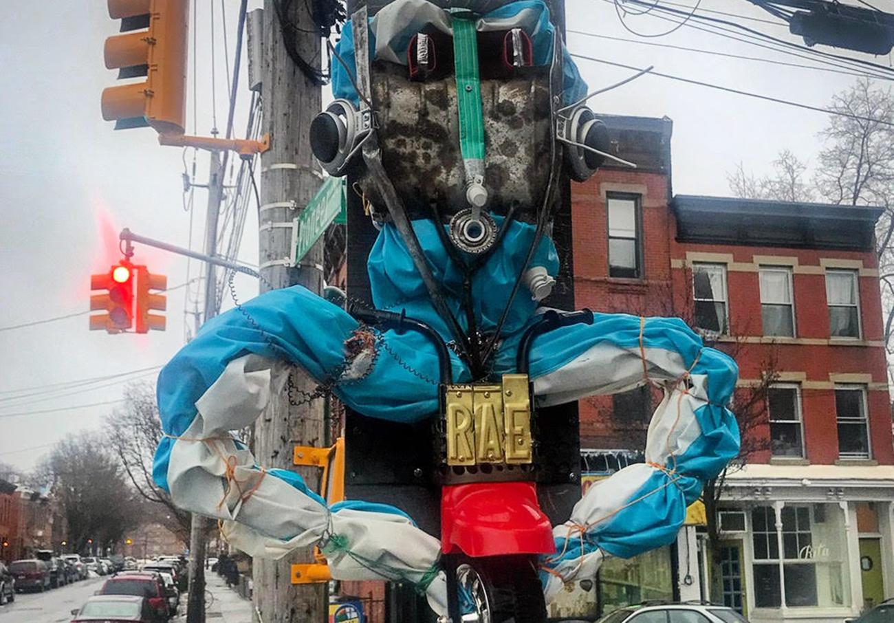 Graffiti new york street art