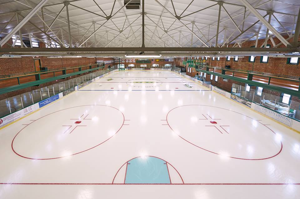 Vacation New Jersey Ice Rink Skate Fun red bank