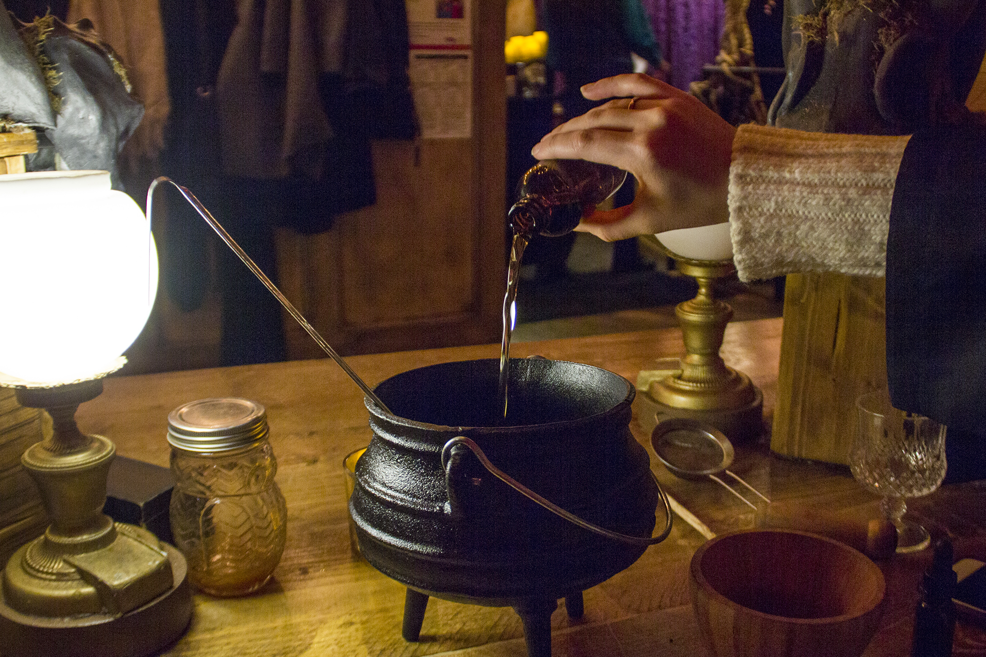 harry potter mixology class
