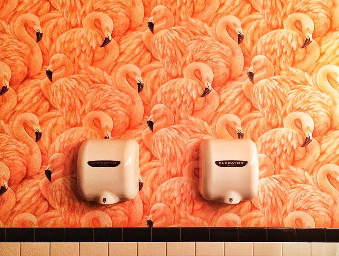 royal palms bathroom selfie